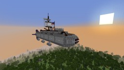 3rd Rate Ship of the Line, HMA Captain Minecraft Map & Project