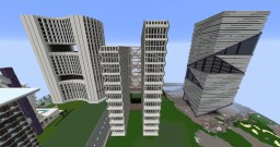 Skyscrapers Minecraft Map & Project