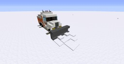 Snow plow | WWNR vehicles | Minecraft Map & Project