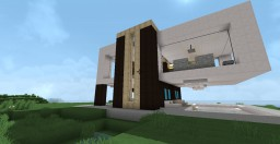 DB Modern House Minecraft Map & Project
