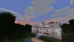 Marble Mansion!!! Decorate yourself! Minecraft Map & Project