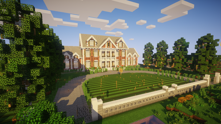 Survival Map Villa Moderne Minecraft Project