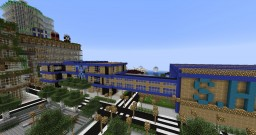 Star City S.H.I.E.L.D. Headquarters Minecraft Map & Project