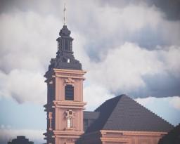 Evangelische Stadtkirche Rüsselsheim, Rüsselsheim am Main, Germany Minecraft Map & Project