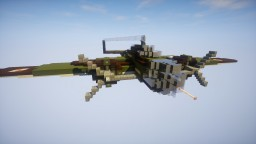 PZL Łoś bomber Minecraft Map & Project