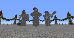 Knights Statues Minecraft Map & Project
