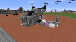 """XF-85 """"Goblin"""" Parasite Fighter Minecraft Map & Project"""