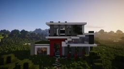 Ultra Modern House by ItsZel Minecraft Map & Project