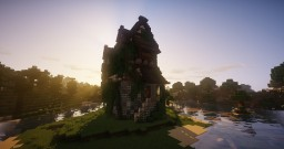 Medieval Tall House Minecraft Map & Project