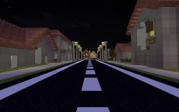 City/Suburb Area Minecraft Map & Project