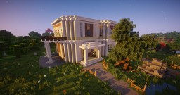 Big White Mansion Minecraft Map & Project