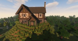 Bigger Medieval House Minecraft Map & Project