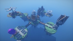 Steampunk Islands Minecraft Map & Project