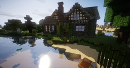 Medieval Brick House Minecraft Map & Project