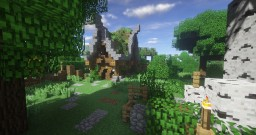 Forest Village Minecraft Map & Project