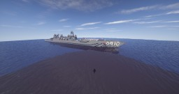 Jace-class guided-missile cruiser Minecraft Map & Project