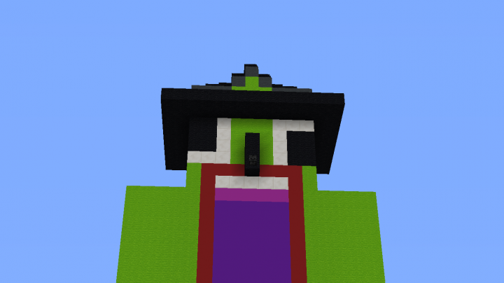 BIG WITCH UNSPEAKABLE Minecraft Project