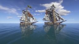 Medieval ship - Black Flag Minecraft
