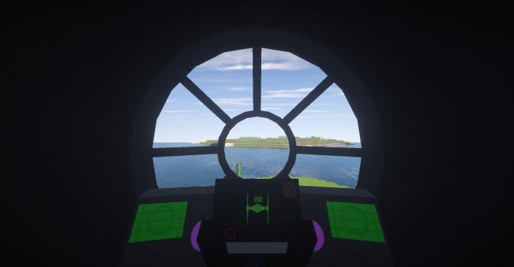 TIE Fighter Cockpit Interior