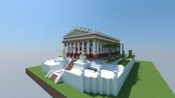 AC Odyssey Acropolis of Apollo Minecraft