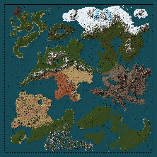 AOI Realms of Aldenor comes with a custom-made world you won't find anywhere else!