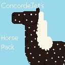ConcordeJet's Bareback Horses Pack Minecraft Texture Pack