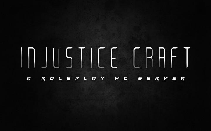 Injustice Craft A Roleplay MC Server