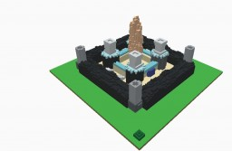 castle tinkercad Minecraft Map & Project