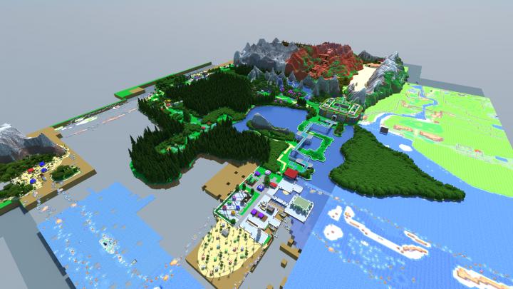 Semia Server (Hoenn Map)(Pixelmon Reforged Server)(2018) Minecraft