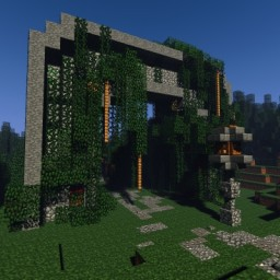 Forest Entrance Minecraft Map & Project