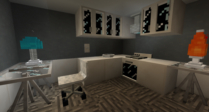 Popular Texture Pack : Modern Furniture resource pack 2.1
