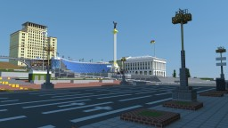 Independence square of Kiev Minecraft Map & Project