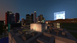 Los Angeles City Map Minecraft