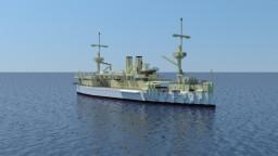 USS Maine (ACR-1) Minecraft