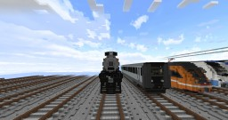 Nickel Plate Road #587 5:1 Scale Minecraft Map & Project