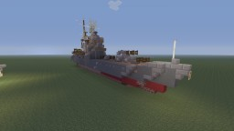 IJN Tone heavy cruiser bathtub build Minecraft Map & Project