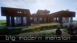 BIG Modern Mansion - (BW Creative Server) Minecraft Map & Project