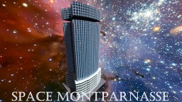 Space montparnasse Minecraft Map & Project