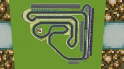 Frio International Circuit Minecraft Map & Project