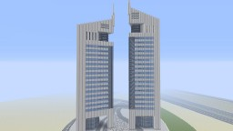 Jumeirah Emirates Towers Dubai Minecraft Map & Project