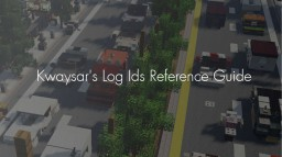 Minecraft Log Ids | Reference Guide | Kwaysar Minecraft Blog Post