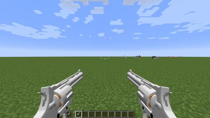 Hunting Revolver dual wield