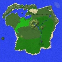 Hamilchar's RPG Map - 5k Survival Island Minecraft Map & Project