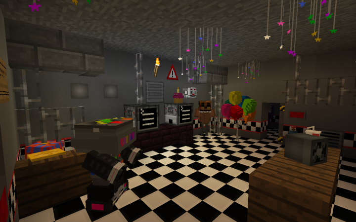 Ultimate FNAF Map Minecraft Project