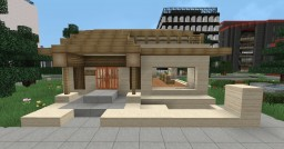 BARBERSHOP AND VANS SHOP Minecraft Map & Project