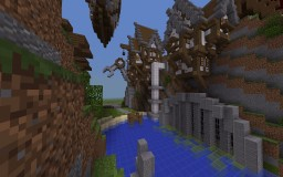 Steampunk contest 1st place on primegames creative server (mcpe) Minecraft Map & Project