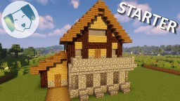 Easy Starter House #2 Minecraft Map & Project