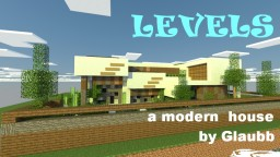 LEVELS-a modern house by Glaubb_ Minecraft Map & Project