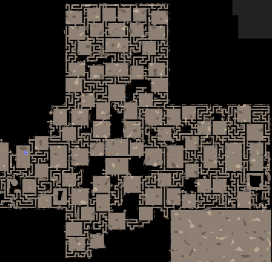 Dungeon under the castle so far