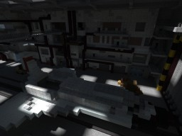 Abandoned Buran Hangar Minecraft Map & Project